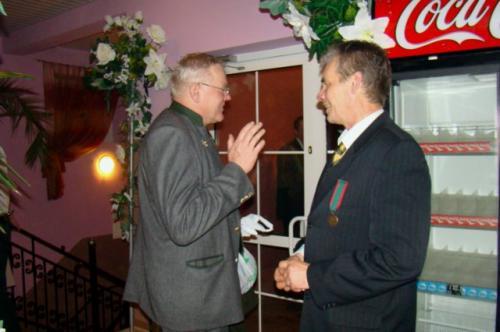 Zbyszek Ostański i Jaroslav Holoubec.