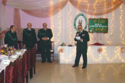 Przywitanie gości i kolegów